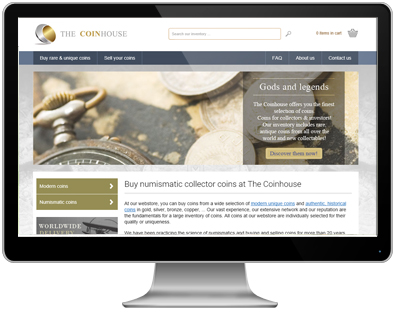 The Coinhouse - Modern and numismatic coins